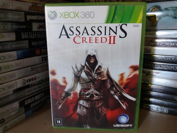 Jogo Assassins Creed 2 Xbox 360 Original Mídia Física