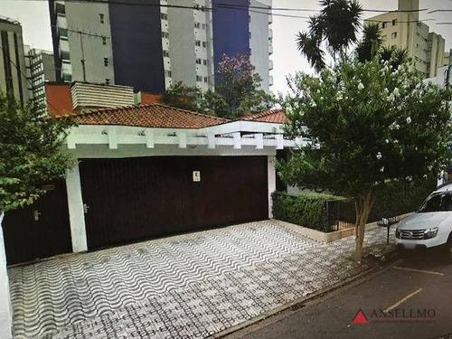 Casa Com 3 Dormitórios Para Alugar, 550 M² Por R$ 9.800,00/mês - Centro - São Bernardo Do Campo/sp - Ca0476
