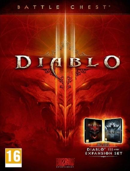 Diablo 3 Battle Chest Pc - Blizzard Key (envio Flash)