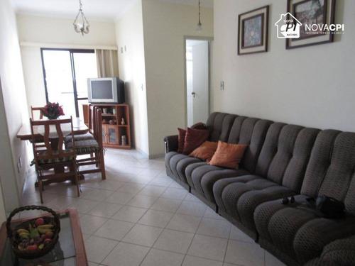 Apartamento Com 1 Dormitório À Venda, 56 M² Por R$ 170.000,00 - Vila Guilhermina - Praia Grande/sp - Ap8062