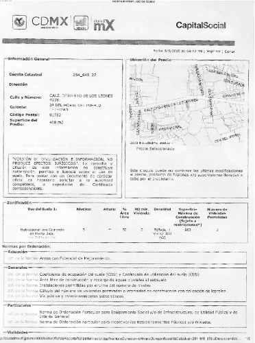 (crm-92-4498) 2ª Del Moral Del Pueblo Tetelpan, Terreno En Venta, Delegacion Álvaro Obregón México D.f.