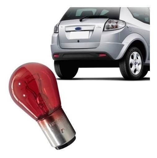 Lâmpada Vermelha Meia Luz E Freio Ford Ka 08 A 13 Philips