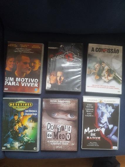Lote Com 6 Dvds Originais - 6 Grandes Filmes!
