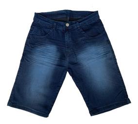 Kit 5 Bermudas Masculinas Jeans Com Lycra - Shorts