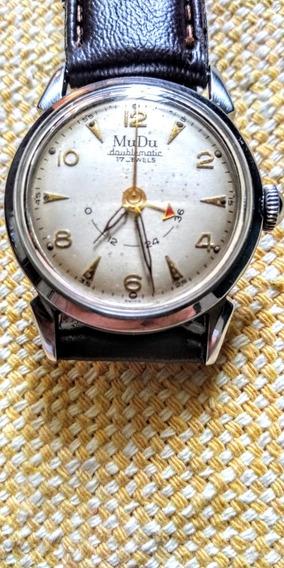 Mudu Raro /antigo Relógio Suíço Automático Indicadorcarga