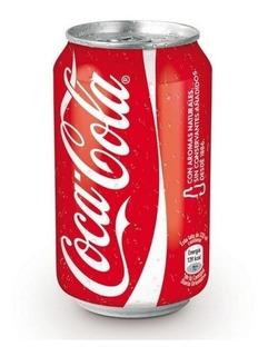 Coca Cola Lata 354ml Sabor Original Comun Pack X6 Gaseosa