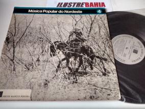 Lp Música Popular Nordeste 4 (marcus Pereira) 1973