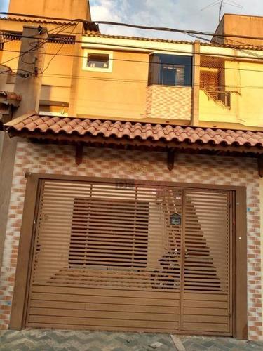 Sobrado Com 3 Dormitórios À Venda, 116 M² Por R$ 420.000,00 - Jardim Santa Maria - São Paulo/sp - So3416
