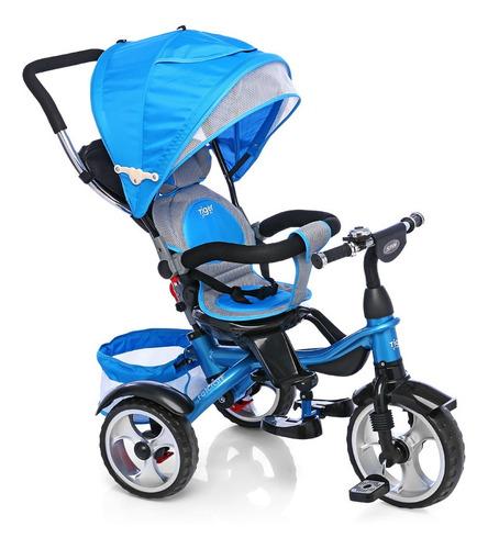 Imagen 1 de 4 de Triciclo Felcraft Little Tiger Spin azul