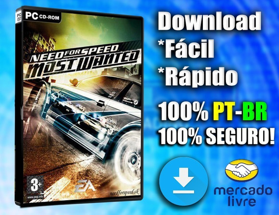 Need For Speed Most Wanted Pc Pt-br Completo Midia Digital!