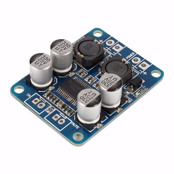 10 Pçs Amplificador Tpa3118 Placa Classe D Mono 60w Rms