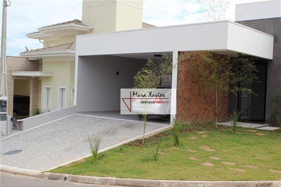 Casa Com 4 Dormitórios À Venda, 195 M² Por R$ 1.275.000 - Condomínio Recanto Dos Paturis - Vinhedo/sp - Ca1466