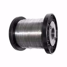 10 Peças Arame Aço Inox Cerca Elétrica Fio 0,45mm 400mts.