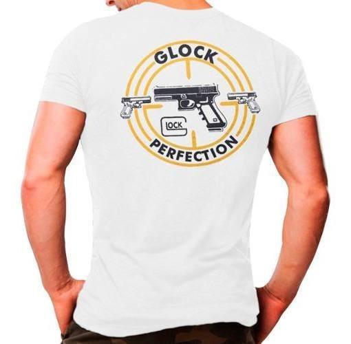 Camiseta Masculina Airsoft Atack Militar Branca 100% Algodão