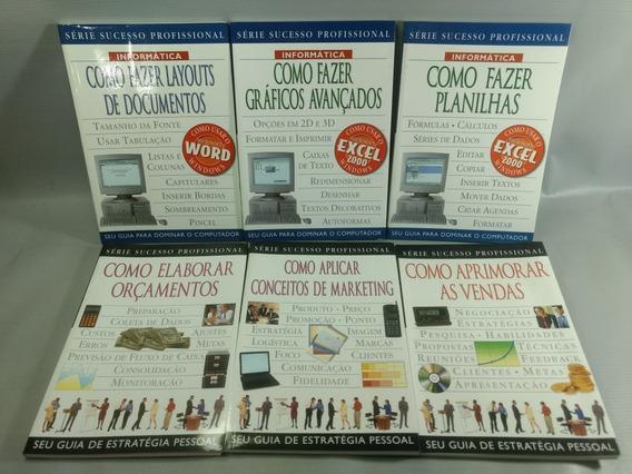 Livros Série Sucesso Profissional Usados 06 Unidades