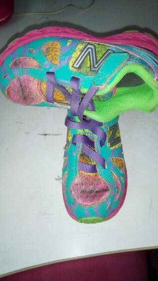 Zapatos Deportivos New Balance Originales Talla 25