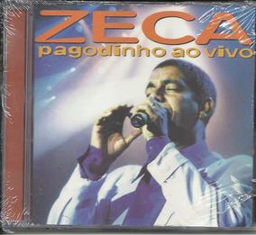 Cd Zeca Pagodinho - Ao Vivo 1999 - Original