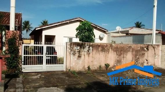 Casa Térrea Com Terreno De 500m² - A Uma Quadra Da Praia. Balneário Gaivota - 426
