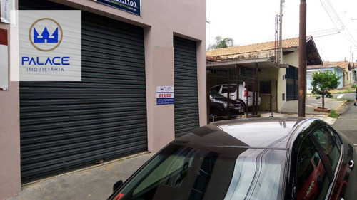 Salão Para Alugar, 136 M² Por R$ 2.300,00/mês - Vila Monteiro - Piracicaba/sp - Sl0138