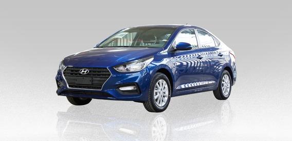 Hyundai Accent Gl Mid 1.6l 2020 Azul 4 Puertas