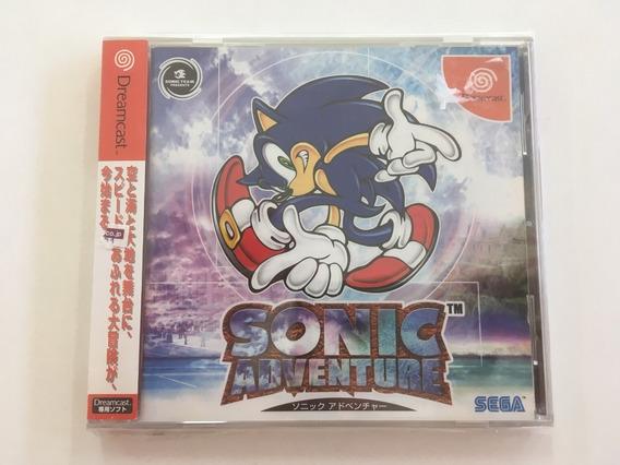 Sonic Adventure Sega Dreamcast Japones - Madgames