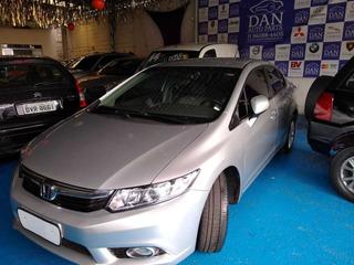 New Civic Lxr 2014 2.0 Flexone Automático, Bancos Em Couro