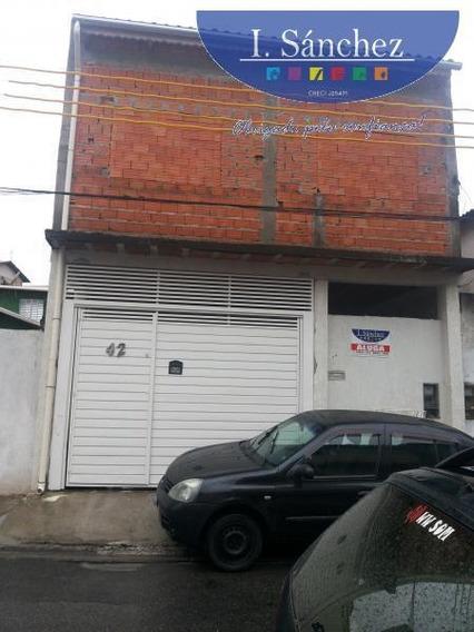 Casa Para Locação Em Itaquaquecetuba, Jardim Odete, 2 Dormitórios, 1 Banheiro, 1 Vaga - 190831