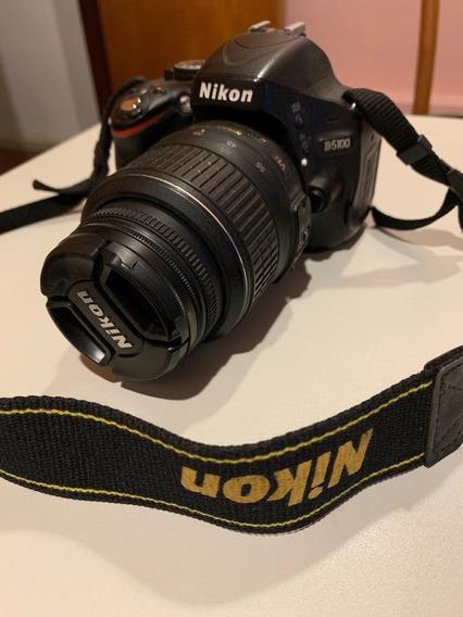 Nikon 5100 + Lente 18-55mm + Cartão 16gb + 2 Baterias