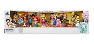 Set De Lujo 20 Figuras Animators Princesas Disney Store
