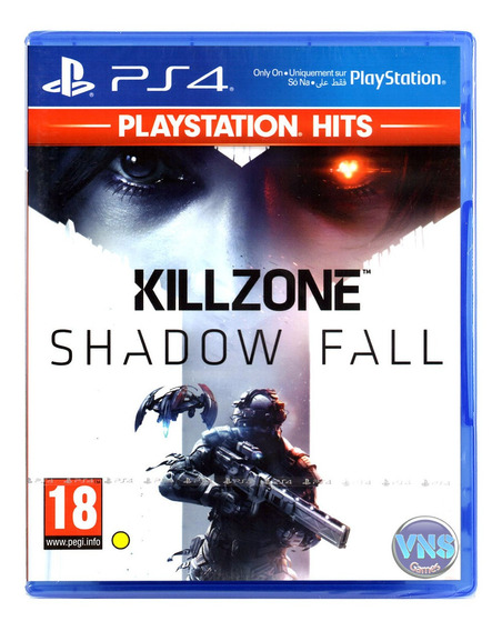 Killzone Shadow Fall - Playstation 4 Lacrado - Mídia Física