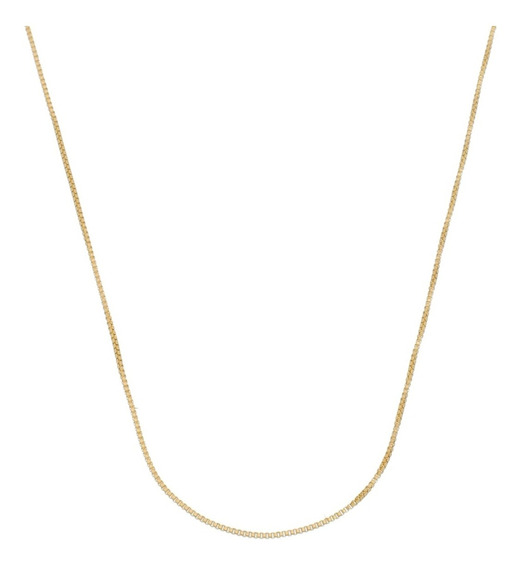 Cordão Masculino Fino Banhado A Ouro 18k 60cm Moda C12