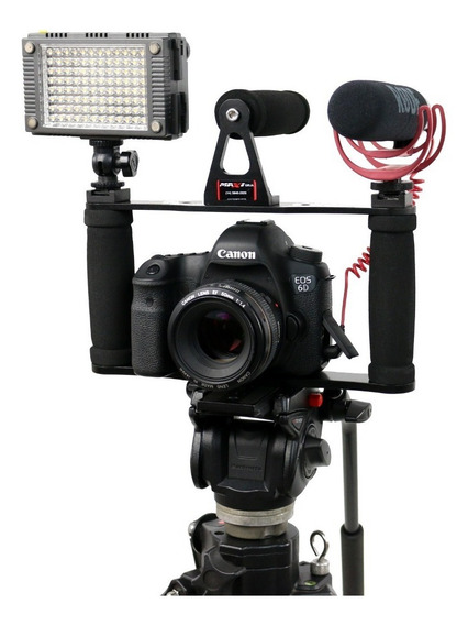 Cage Gaiola Estabilizador Cameras Dslr Canon Nikon Sony