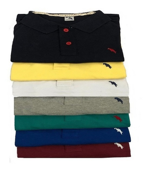 Kit 5 Camisa Polo Masculina Atacado Revenda..