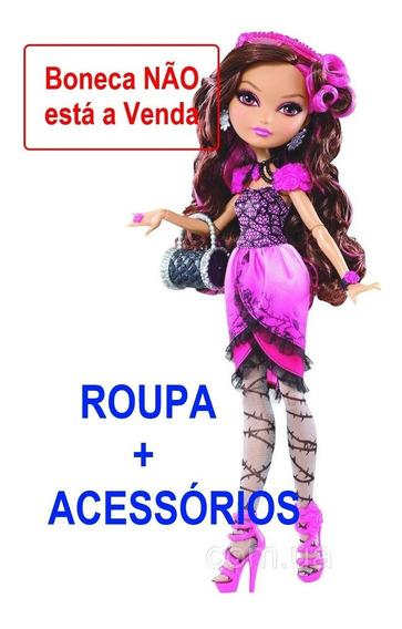 Roupa Completa + Acessório Da Boneca Ever After Briar Beauty