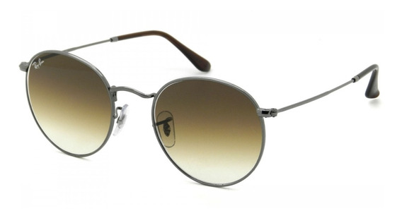 Ray Ban Rb3447-nl 004/51 53 Round Metal - Lente 53mm