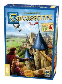 Carcassonne (basico) Devir - Juego De Mesa - Invictvs