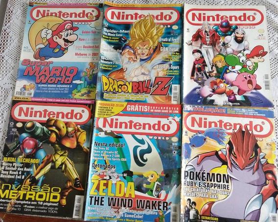 Lote De Revistas Nintendo World - 6 Edições