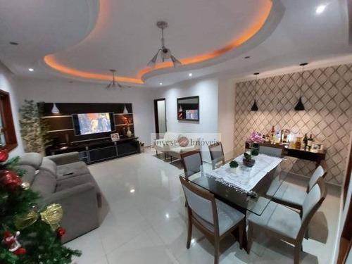 Casa Com 3 Dormitórios À Venda, 167 M² Por R$ 850.000,00 - Urbanova - São José Dos Campos/sp - Ca2719