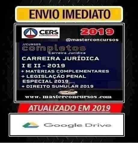 Crs | Carreira Juridica | Modulo I E Ii 2019