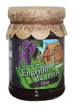 Imagem 1 de 1 de Geleia De Frutas Sabor Uva Orgânico 210g