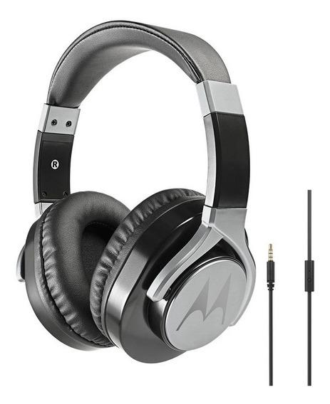 Fone De Ouvido Motorola Pulse Max Wired C/microfone - Preto