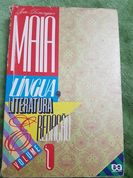 Livro Caderno De Estudo De Língua Literatura E Redação Vol1