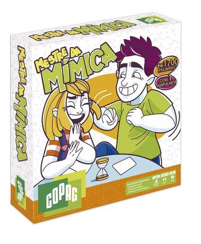 Jogo De Tabuleiro Cartas Board Game Mestre Da Mímica Copag