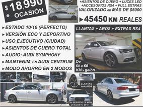 Audi A4 Model 2013 Full Cuero Oferta Viaje Ocasion Deportivo