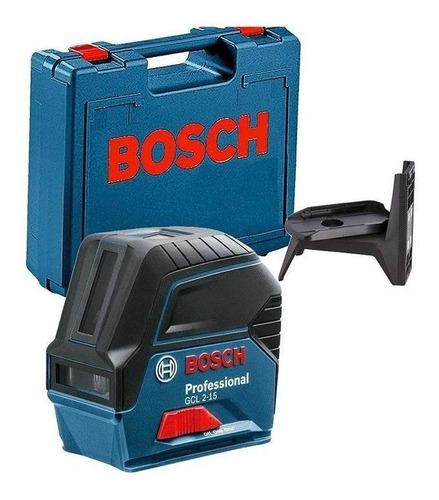 Imagem 1 de 1 de Nível A Laser Combinado Com Maleta Bosch Gcl 2-15