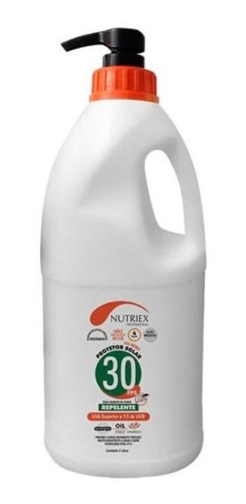 Protetor Bloqueado Solar C/ Repelente Fps30 2 Litros Nutriex