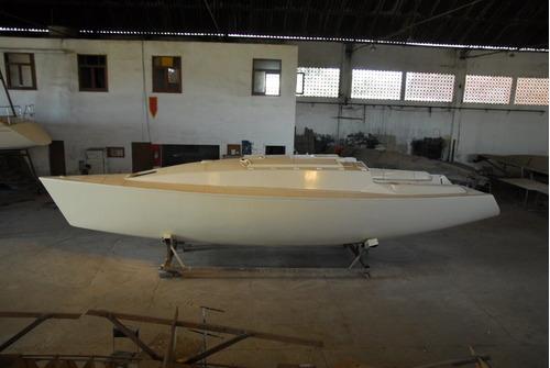 Casco De Veleiro 38  E  Fôrmas Completas Para Sua Produção