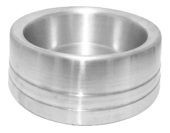 Comedouro Alumínio Pesado Pequeno 800ml Cães Cachorros Gatos - O Mais Barato Do Mercado!