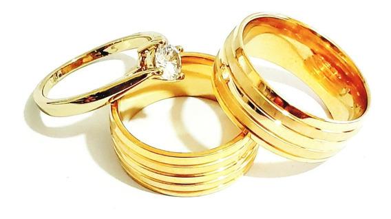 Par De Alianças 8mm Moeda Antiga Casamento Noivado +gravação
