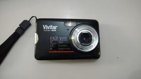 Câmera Digital Vivitar S029 + Mini Tripé + Cartão De Memoria
